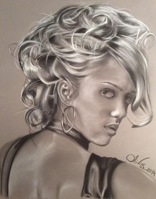 Jessica Alba por Draw68